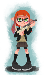 INKLING GIRL by Gilouw