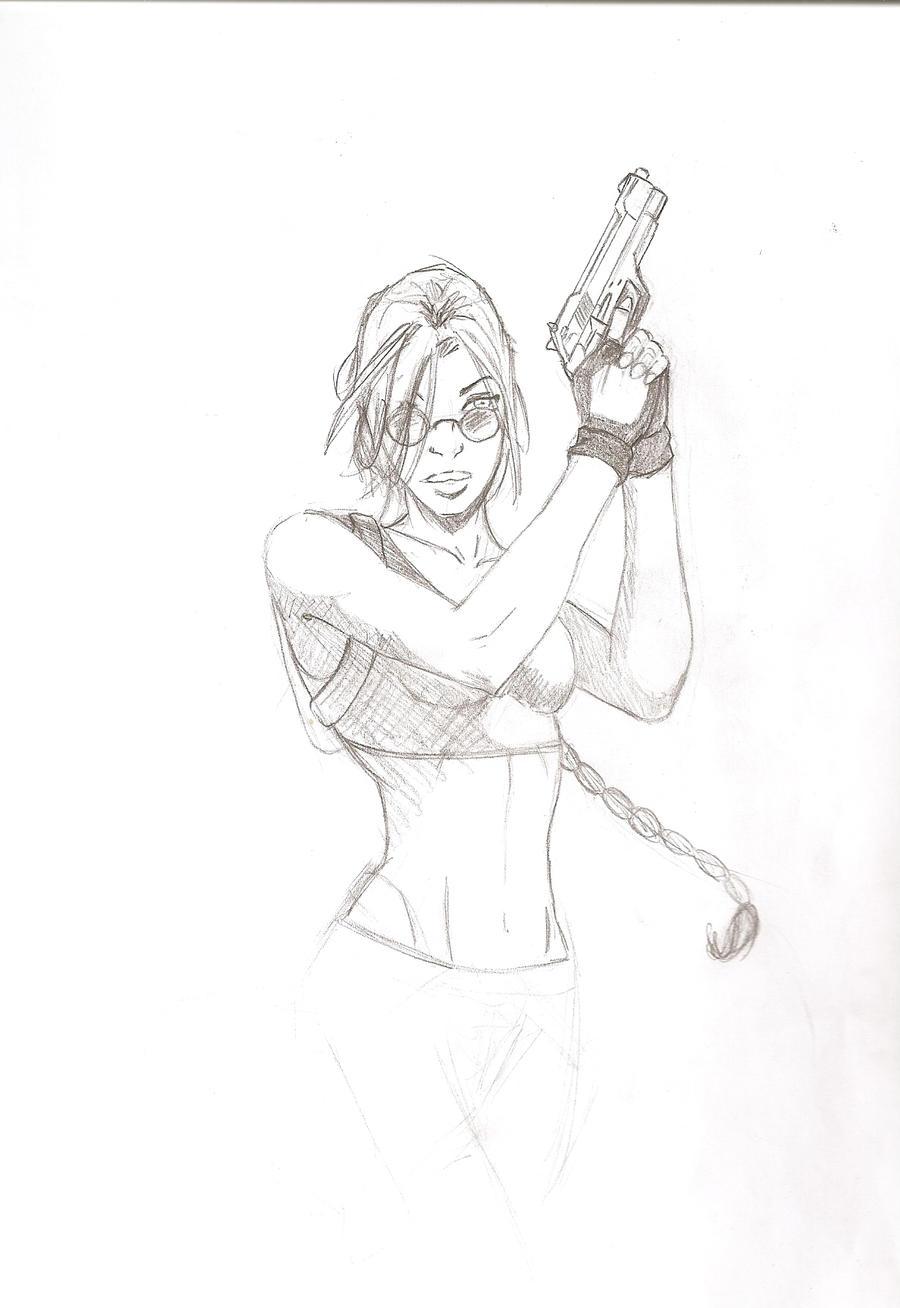 Lara Croft by 4182531