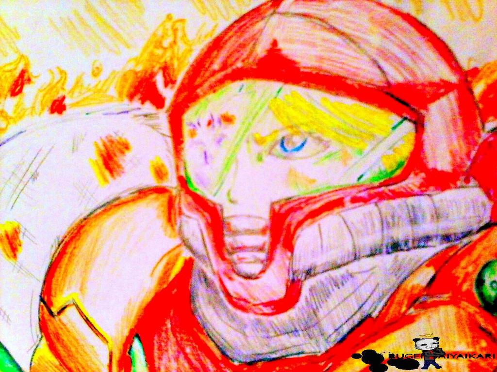 Metroid Other M by Bugendaiyaikari