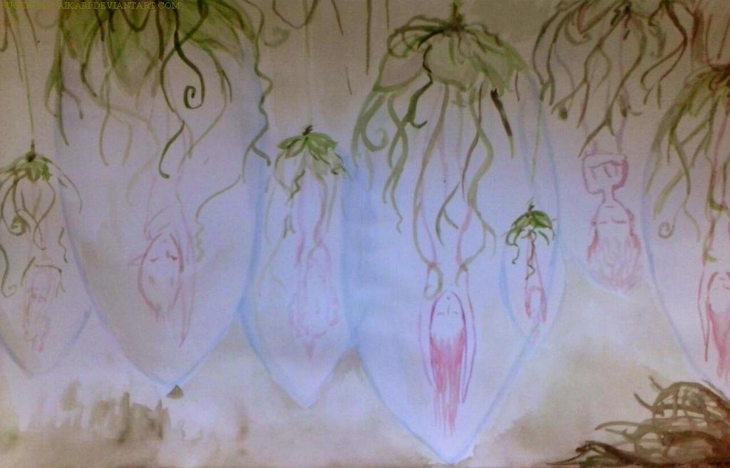 Lotus Bulbs by Bugendaiyaikari