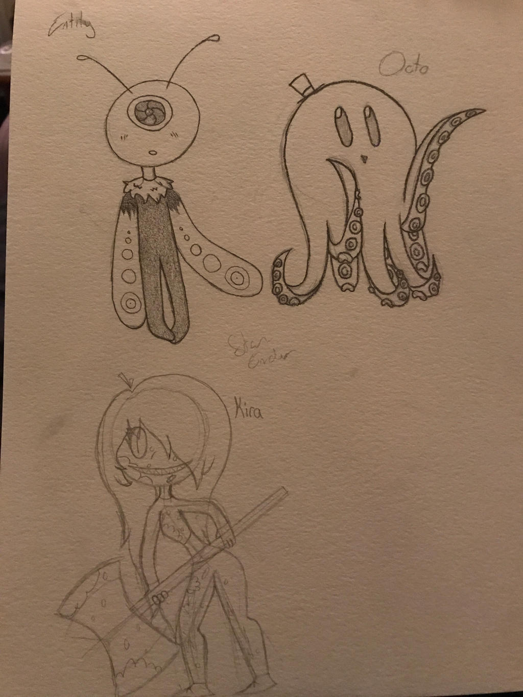 Entity, Octo, and Kira by EndStar1