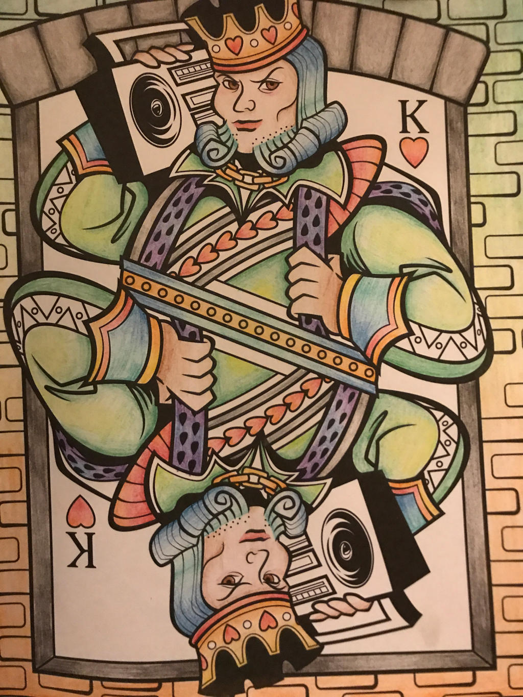 King of Hearts and Stereos by EndStar1