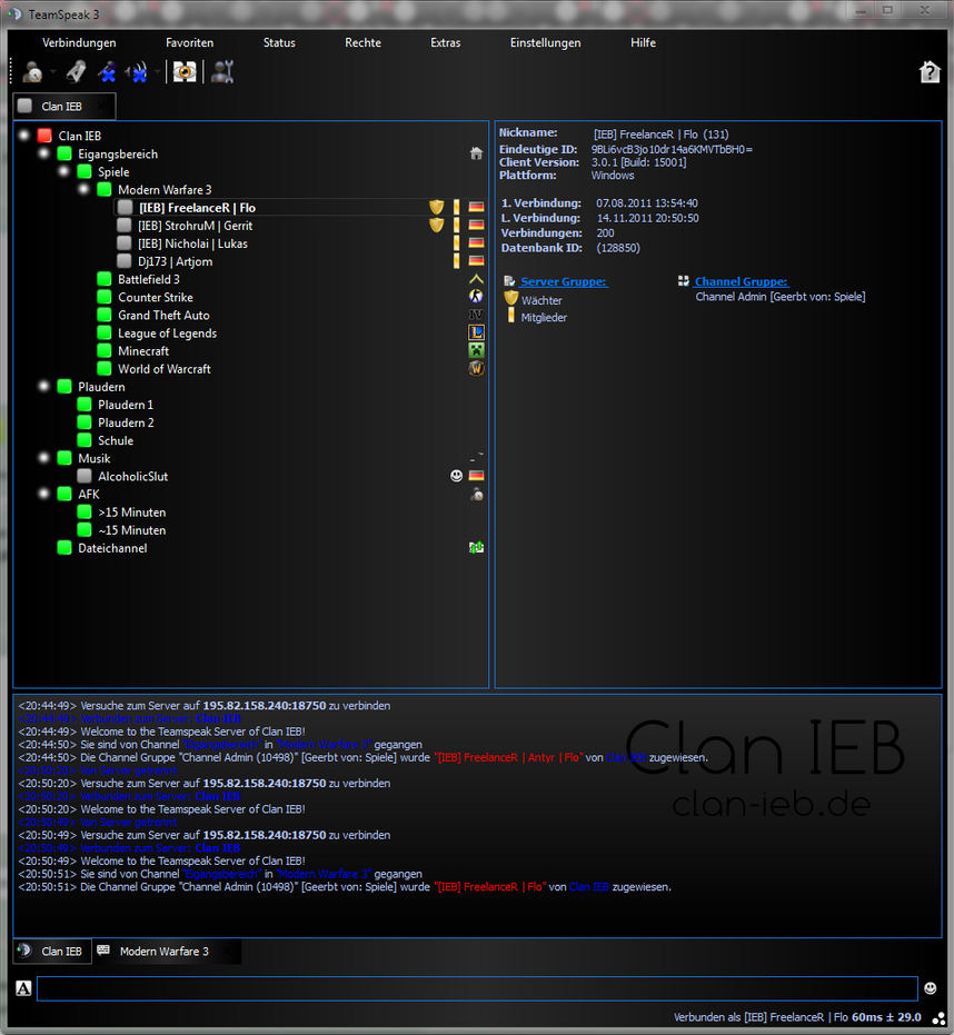 how to make teamspeak server group colours