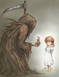 A Little Girl's Monster