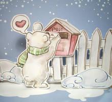 A Polar Bear In Love by DreamsOfALostSpirit