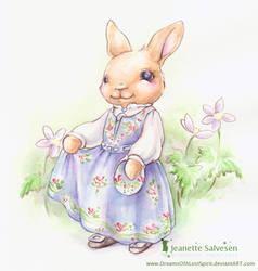 Bunny in Bunad for 17.mai by DreamsOfALostSpirit