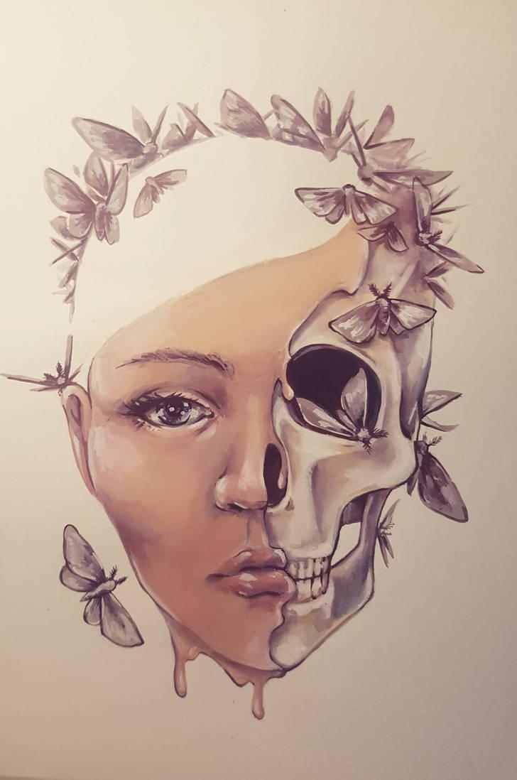 Skin and Bones by DreamsOfALostSpirit