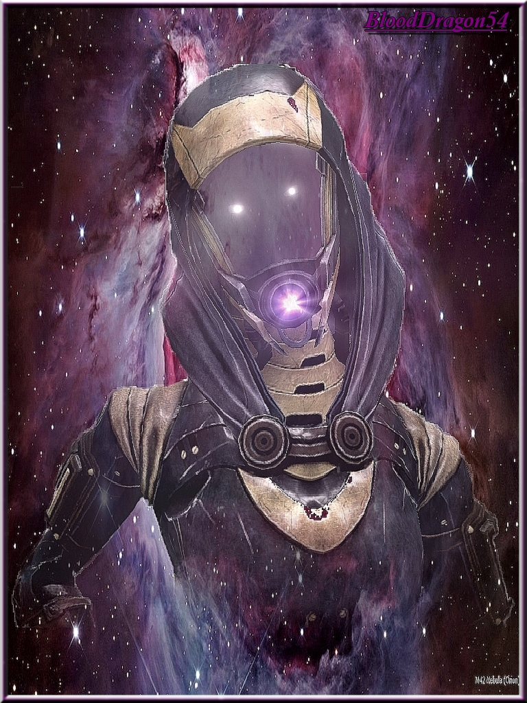 Tali in the stars by johnshepard54