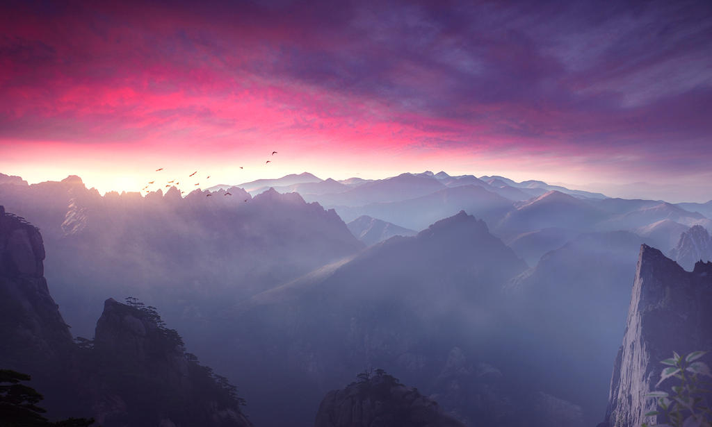 Misty Mountains by Bunny7766