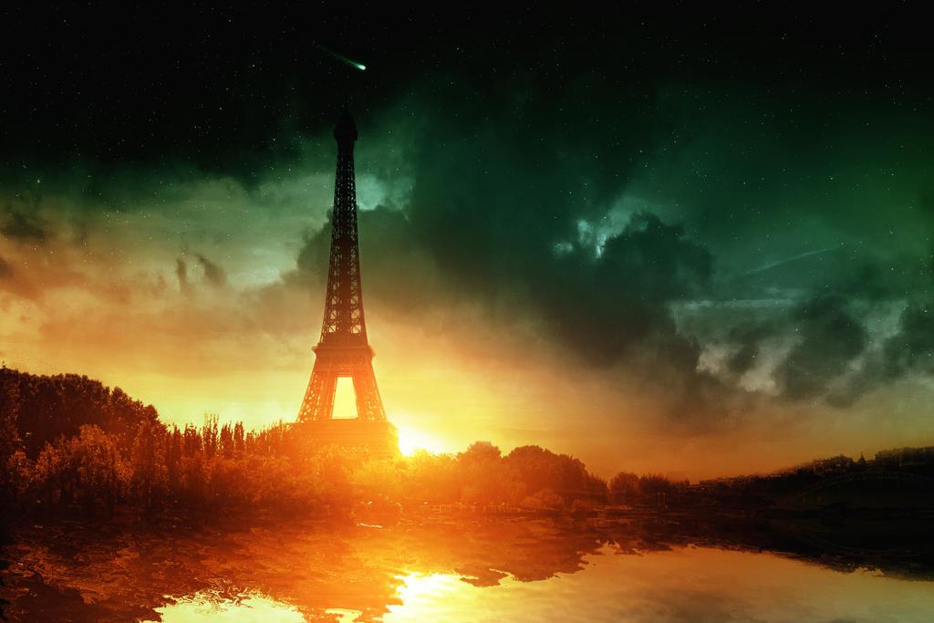 Eiffel Tower by Bunny7766