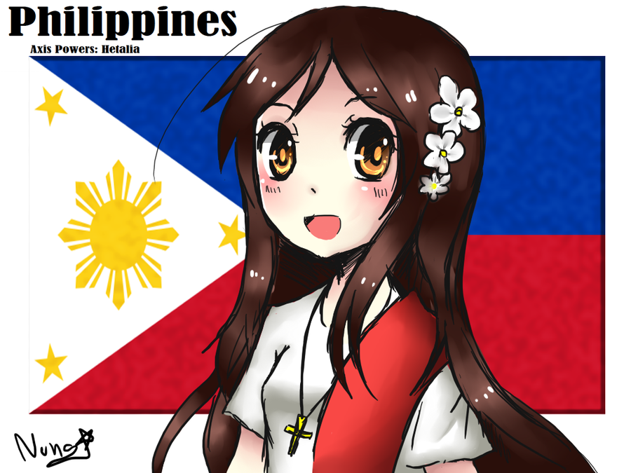 Philippines chan by NEZUMI-NA