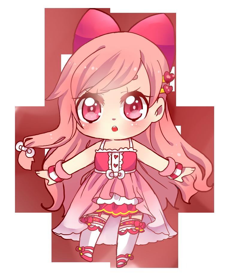 Pink girl by NEZUMI-NA