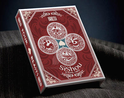 SiShou - Four Beasts, Red Deck by alvincheunghy