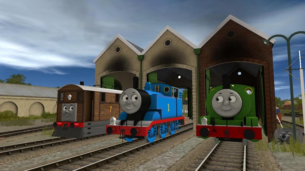The Three Ffarquhar Engines by 76859Thomasreturn on DeviantArt
