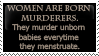 Born murderers mockery by KathyKnodoff