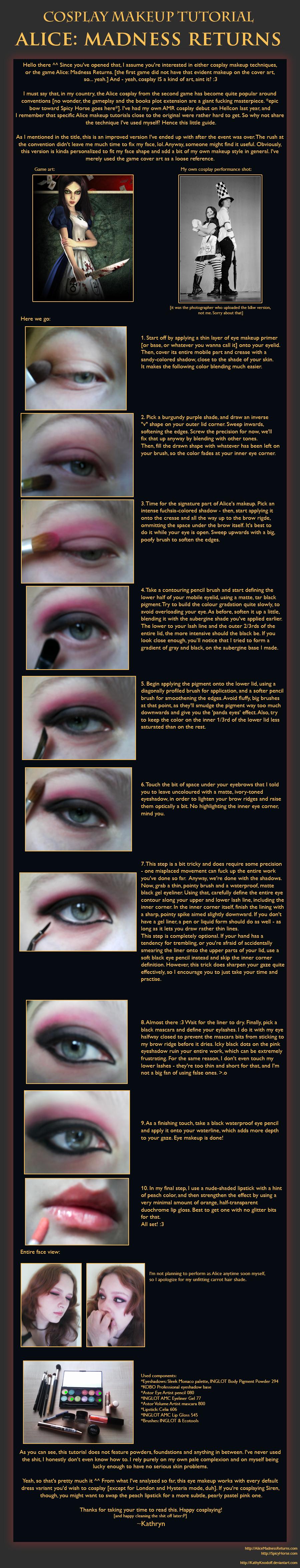 Cosplay makeup tutorial alice liddell improved by kathyknodoff on cosplay makeup tutorial alice liddell improved by kathyknodoff baditri Gallery