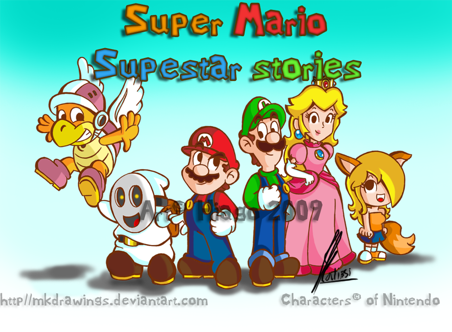 Super Mario: Superstar Stories by MKDrawings