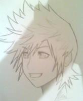 Kingdom Hearts: Roxas by MKDrawings
