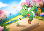 Commission: Just a common day on Yoshi's Island