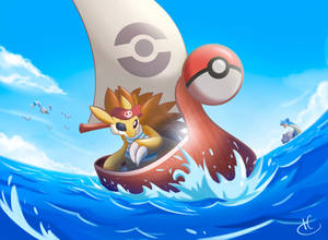 Commission: Pokemon pirate's life