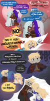 Chibi Theater: Dooters and Kyorls by chocolate-rebel