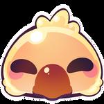 Fat chocobo emoji