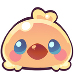 Chocobo chick emoji