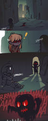 Jump Scare by chocolate-rebel