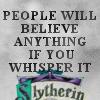Slytherin Icon: Whisper by xXOriginalSinXx