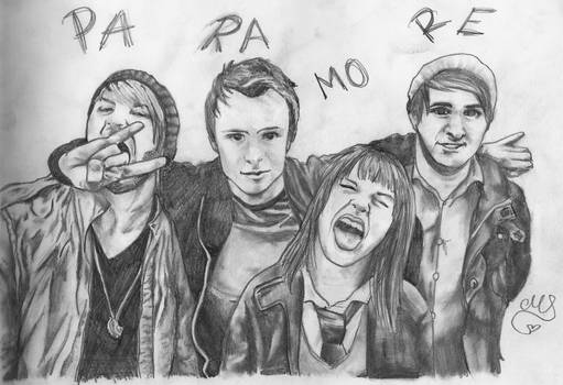 Portraits of Paramore