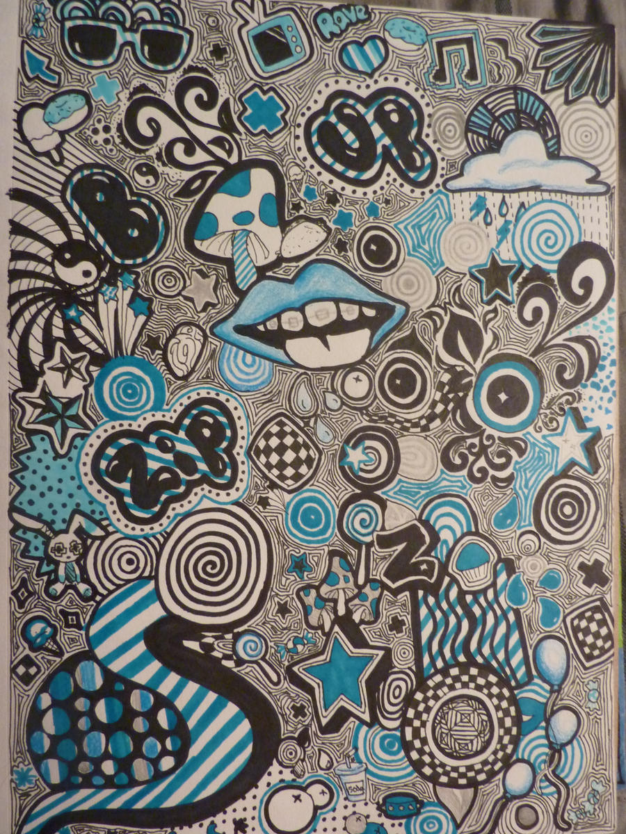Trippy Doodles by Th3pr0t0n on DeviantArt
