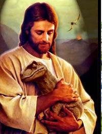 Jesus Raptor by seeyouinjune