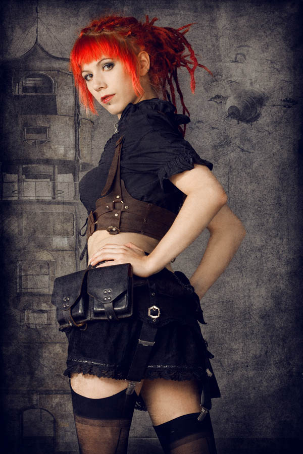 Steampunk - Vermillion Part II by MarcoSchnitzler