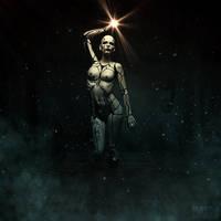 Cyborg by MarcoSchnitzler