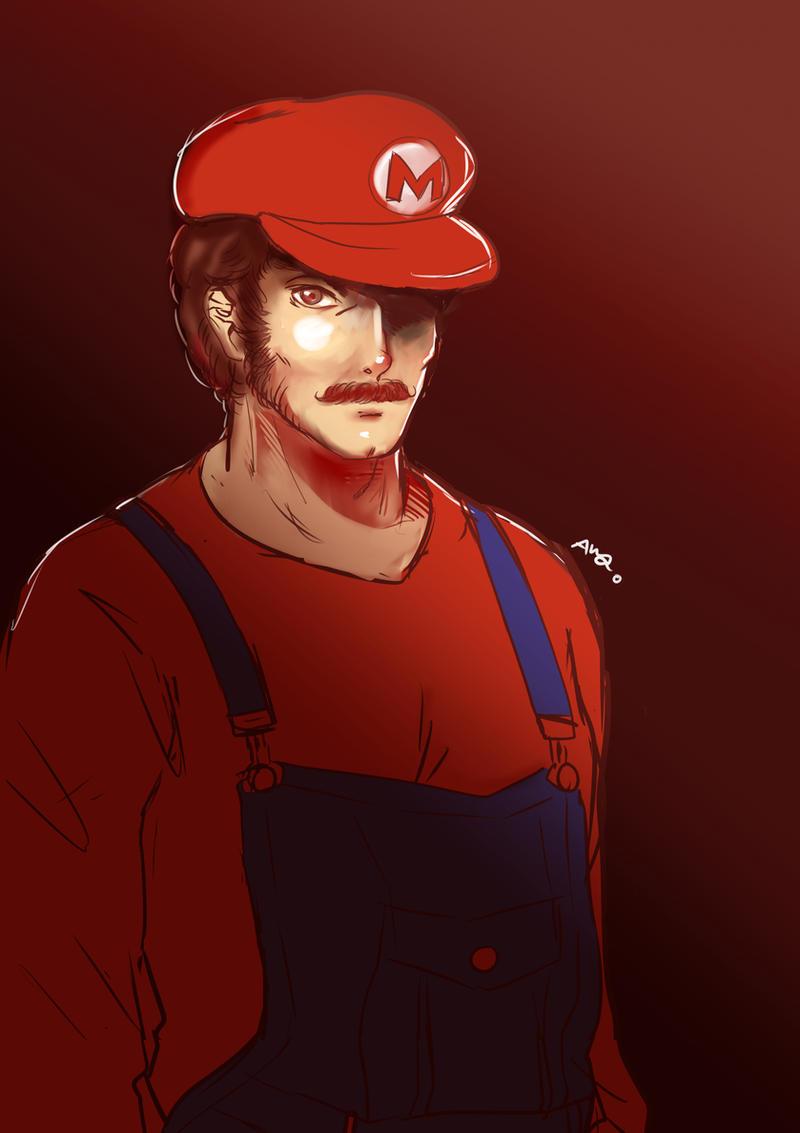 Mario by AraSFwitch