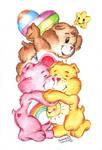 Friendly-type Care Bears.