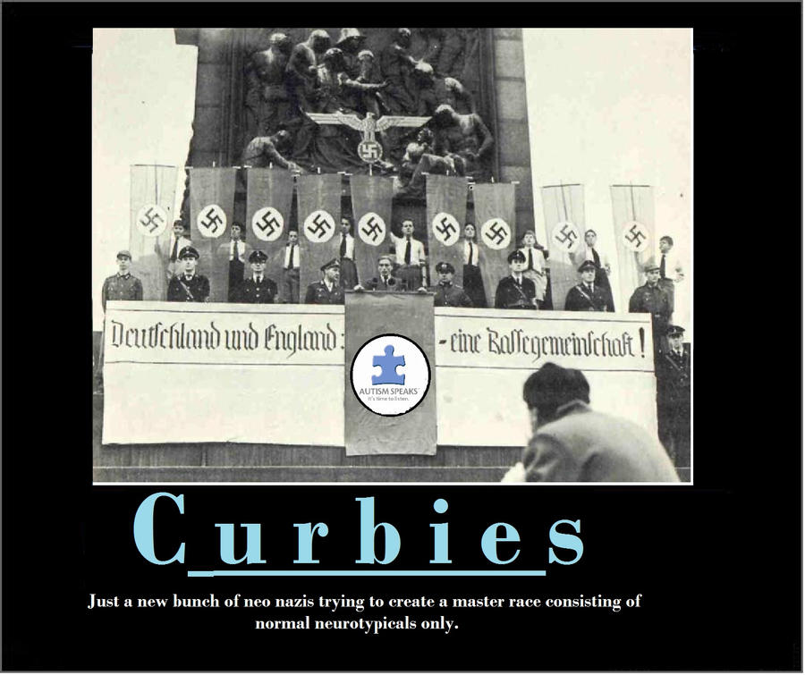 Curbies or nazis by samuelandrews