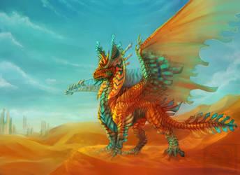 FoR Beasts: Desert King by GelangweilterToaster