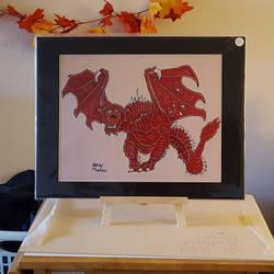Dragon Roar, Print