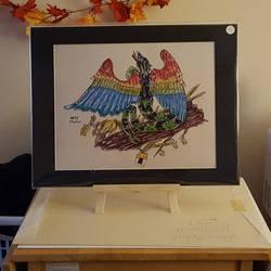 Quetzalcoatyl, Print