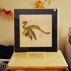 Egyptian Winged Serpent, Print