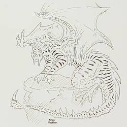 Manticore (black and white)