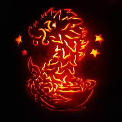 Tea Dragon Jack o lantern