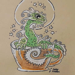 Gecko Coffee Dragon