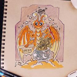 The Magician 2 Dragon