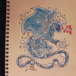 Blue Water Dragon, Chi Orb
