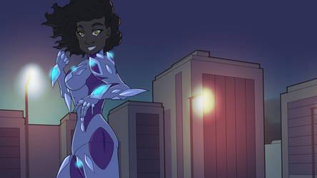Frisky Gwen by general-sci