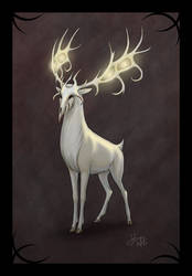 Ghost Stag - Version 2 by HaloGhost