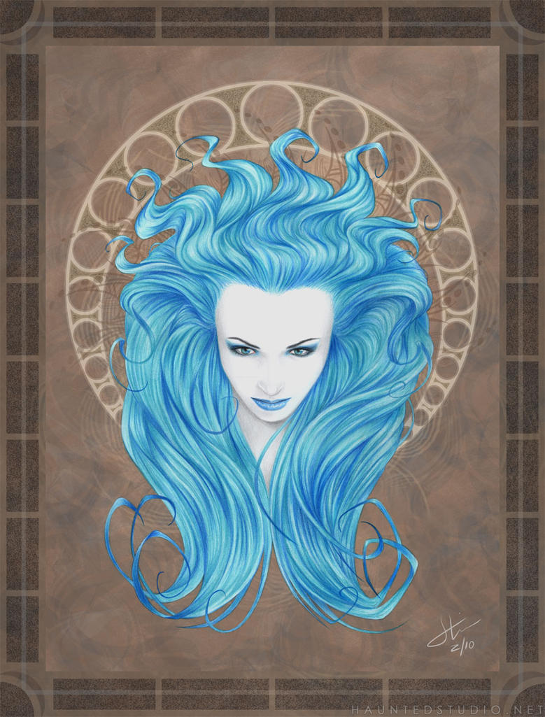 Blue Siren by HaloGhost