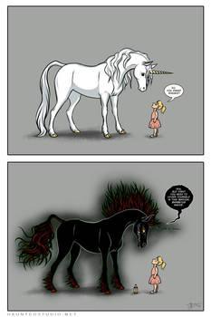 Unicorns Don't Sparkle